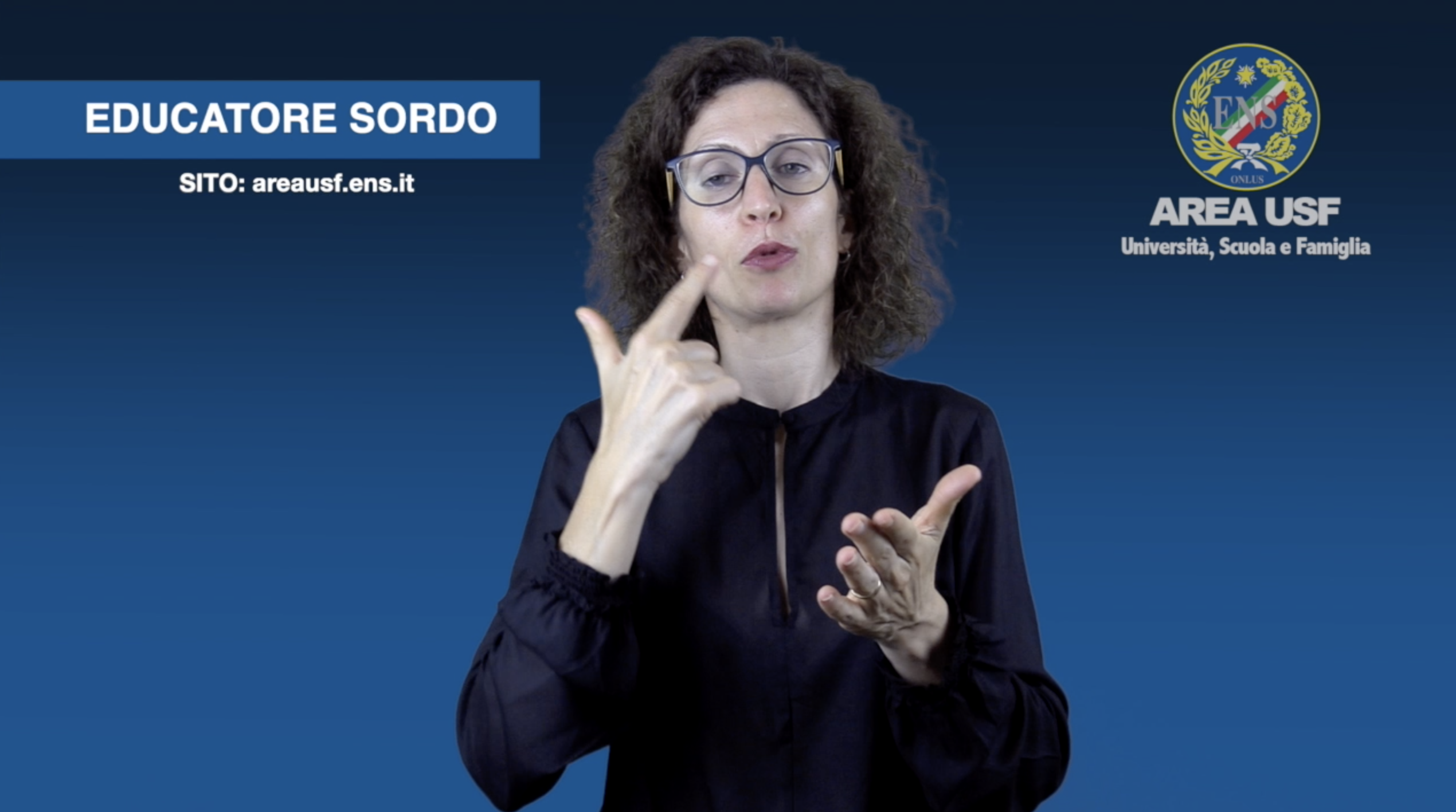 EDUCATORE SORDO
